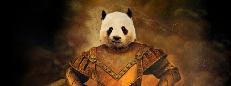 The Hannibal Panda Warrior