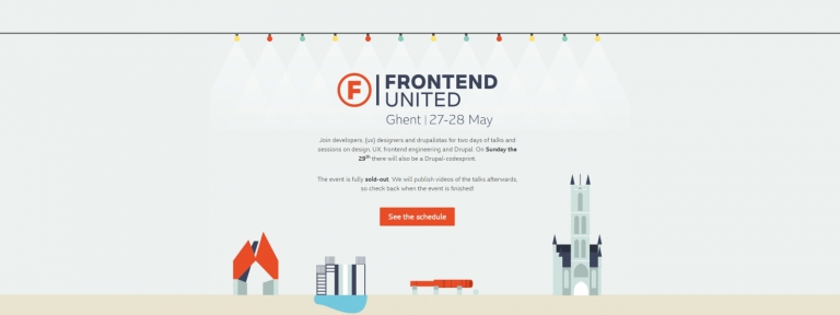 Frontend United website