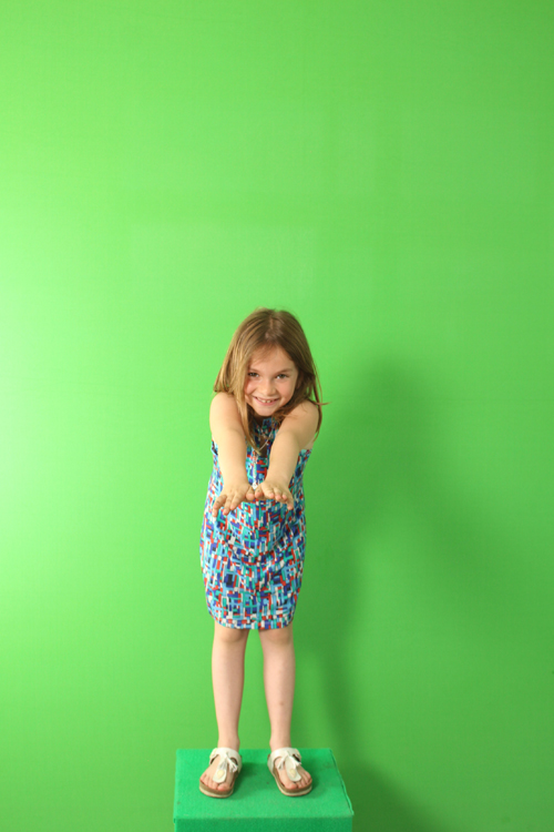 Green Screen - Bezoekers De Kouter